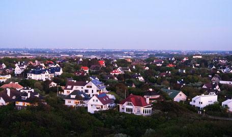 View from hotel Huis ter Duin Noordwijk