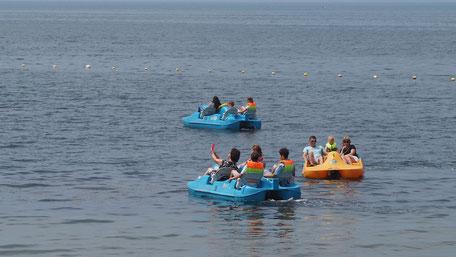 ウラジオストク西側のスポーツ湾