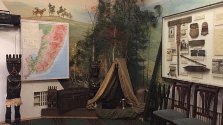 アルセーニエフの家記念館、展示