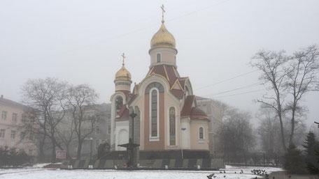 冬のウラジオストク