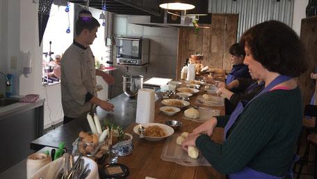 オリガおばさんの料理教室