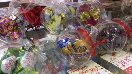 ウラジオストクのチョコレート専門店