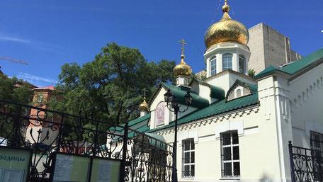 ウラジオストクの教会2