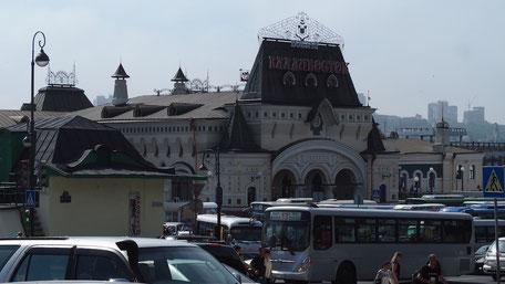 ウラジオストク駅前
