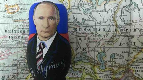 プーチンのマトリョーシカ