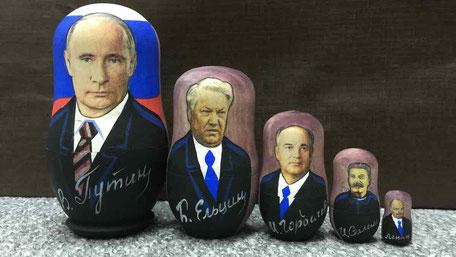 ロシア大統領マトリョーシカ