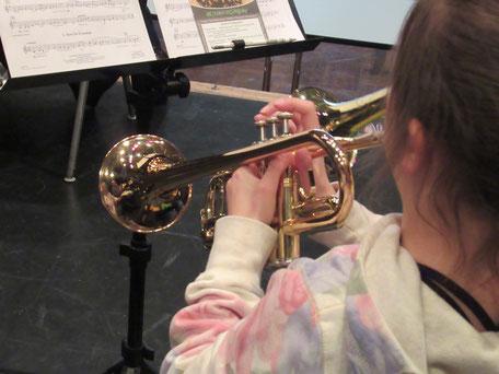 Im MBO-Ensemble können auch die Jüngsten erste Erfahrungen im Zusammenspiel sammeln (Foto: MBO)