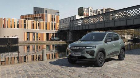 Dacia Spring elettrica autonomia F.lli Cola Osimo Ancona