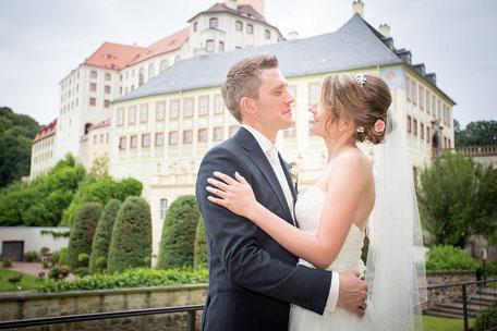 Hochzeit auf Schloss Weesenstein, Hochzeitsfotograf Dresden