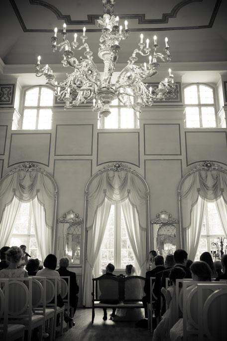 Heiraten im Barockschloss Rammenau