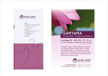 Elke Lenz | Yoga & Ayurveda - Corporate Design, Image Folder