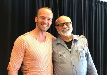 Gesangslehrer Seth Riggs und Christian Bruns