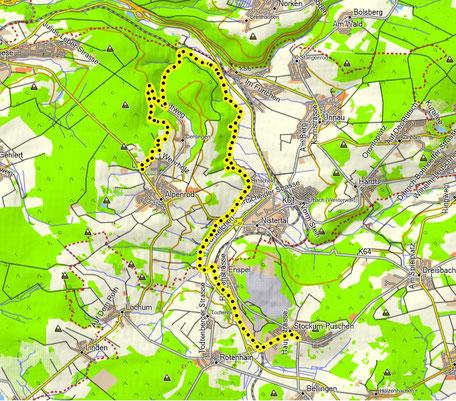 Alpenrod - Stockum 14 km