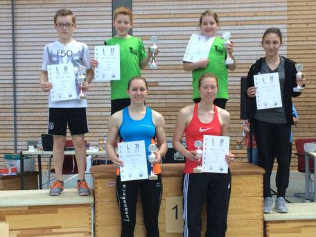 Unsere Sportler erfolgreich bei der Siegerehrung