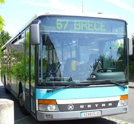 N° 00 916 - Brécé (Anjou) - Photo Brécéen