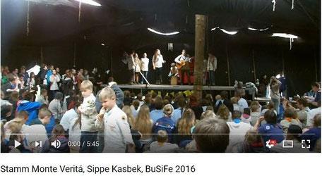 Sippe Kasbek, Stamm Monte Verità Teilnahme Bundessingefest