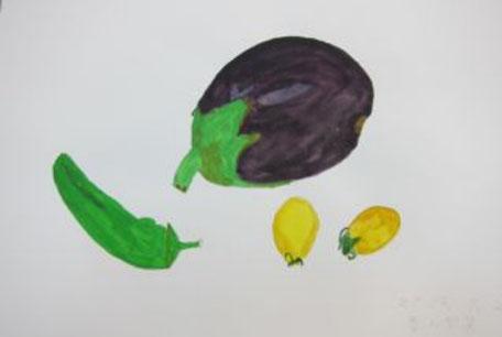 「色とりどりの野菜」