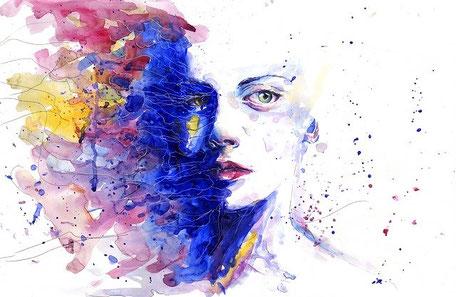 Male Deine Angst und gib ihr eine Farbe.