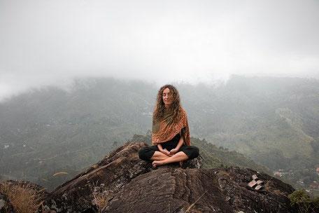 Meditieren hilft Dir, mir Dir im Frieden zu sein