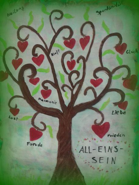 Der Baum des Lebens als Symbol für Kraft und Stärke