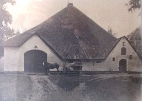 Haubarg vor 100 Jahren