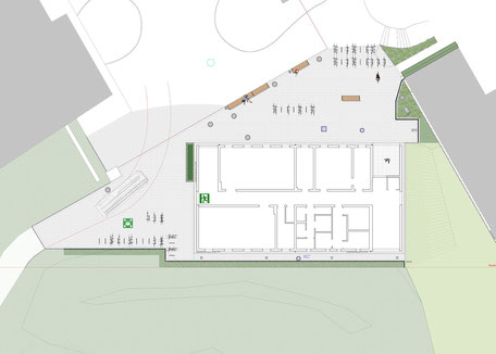 GHSE, Emmendingen - Leistungsphase 6-8, Planung: Albrecht Hild Freier Landschaftsarchitekt