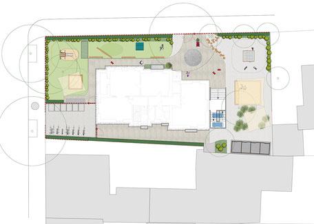 KiTa Jakobi, Freiburg - Leistungsphase 6-8, Planung: Albrecht Hild Freier Landschaftsarchitekt