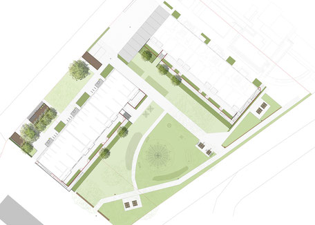 Emmendinger Str. BA 3, Waldkirch - Leistungsphase 6-8, Planung: Albrecht Hild Freier Landschaftsarchitekt