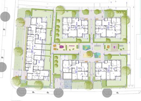 Kurgarten II, Bad Krozingen - Leistungsphase 6-8, Planung: AG Freiraum Landschaftsarchitekten
