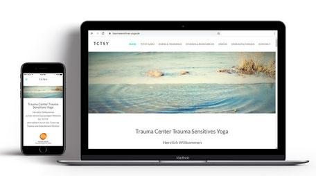 Webseite für Yoga Birgit Löwenbrück