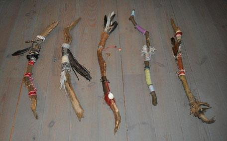 www.ronaldosephius.nl Krachtstokken Talking Stick Bewust Groeien vanuit innerlijke kracht