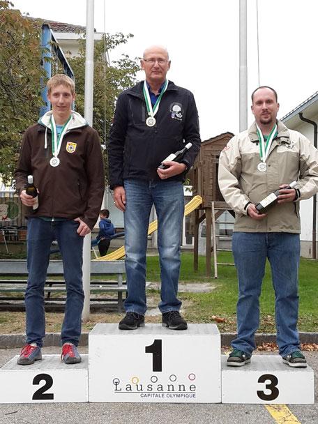 Olivier Moret, Champion Individuel Vaudois 2015 catégorie A (carabine)