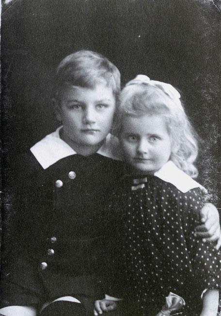 1919ca Werner und Elisabeth