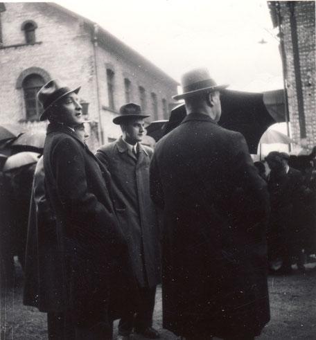 v.l. Hans, Werner, Georg II