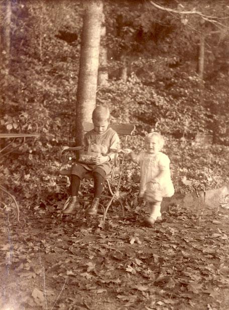 1915 Werner und Elisabeth