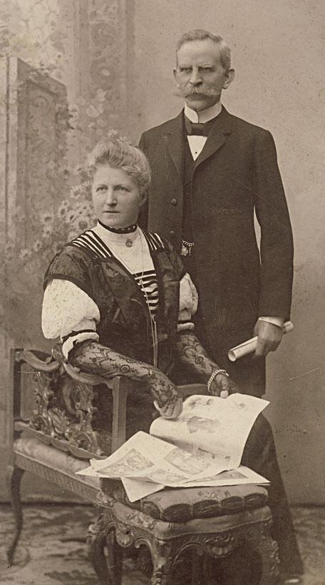 1910ca Eltern Koye von Else