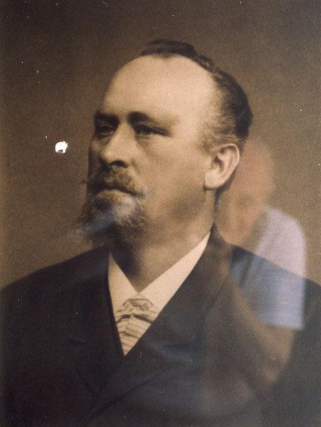 Christian 1837-1892 abfotografiert im Hauptbüro