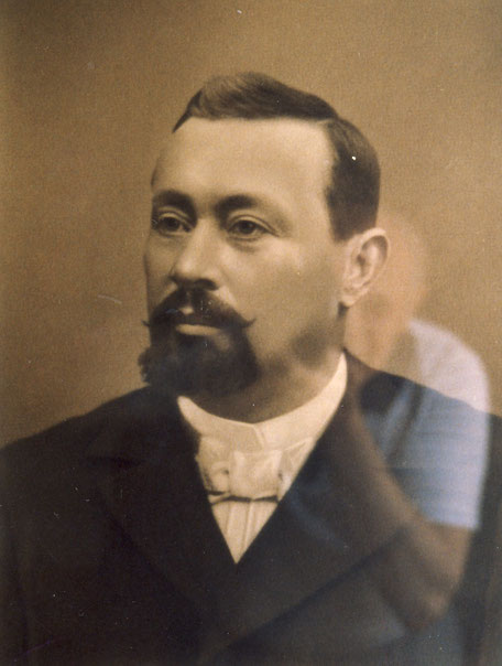 Johann (1845-1895) abfotografiert im Hauptbüro