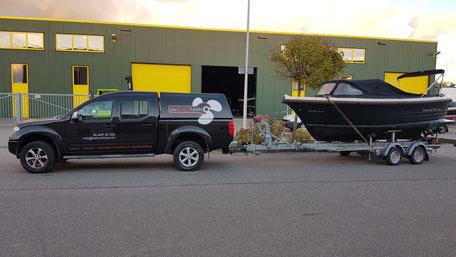 Boottransport door de Bootman in Nieuwkoop