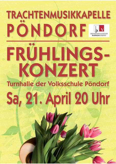 Frühlingskonzert TMK Pöndorf 2018