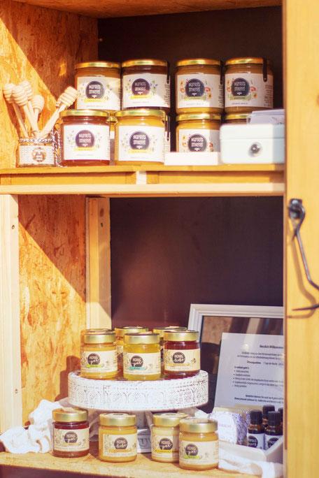 Honig aus dem Westerwald zur Selbstbedienung - Honig aus der Region
