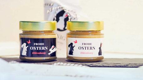 Honig als Geschenk zu Ostern für Kunden, Gäste und Mitarbeiter