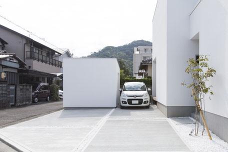 駐車場3台レイアウトの画像