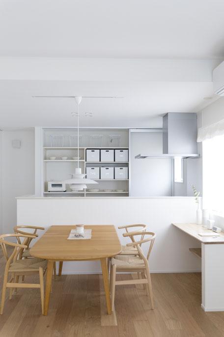 収納上手なキッチンのアイデア