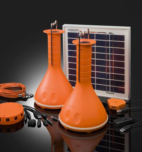PHOCOS PICO LED LAMPEN SET, SOLARA Solarenergie