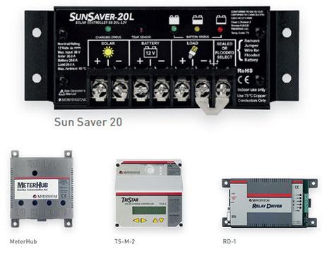Solaranlagen SOLARA Morningstar PWM-Regler