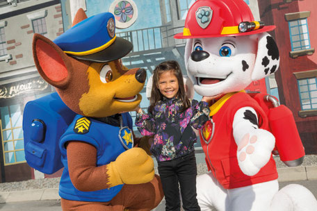 meet and greet paw patrol movie park germany