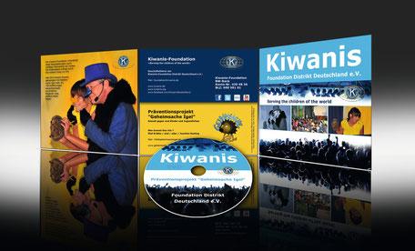 Kiwanis DVD IGEL-Projekt © ES-DESIGN WERBEAGENTUR