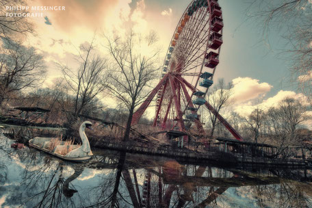 Spreepark Stralau tolle Aussicht seltene Bilder Erlebnistour Berlin Erlebnisse Sightseeing