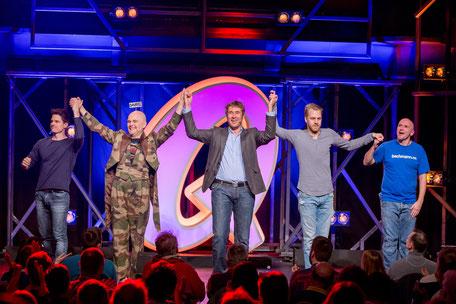Quatsch Comedy Club live erleben Berlin Eelebnisse Comedytour besondere Sightseeingtour Stars auf der Bühne